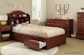 Royal Wooden Beds Amazon Com Summner Breeze Twin Storage Bed Royal Cherry Home