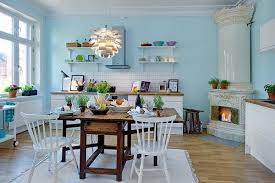 blue kitchen ideas decorate kitchen walls my home design journey