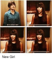 New Girl Memes - nick kissed me new girl meme on ballmemes com