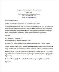 Electrical Engineering Resume Samples by Engineering Resume Template 32 Free Word Documents Download