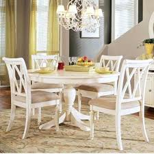 dining table round glass dining table set for 6 white round