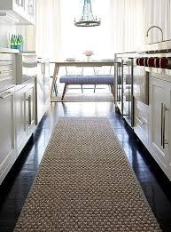 Black White Runner Rug Kitchen Impressive Modern Kitchen Rugs Runner Black Kitchens