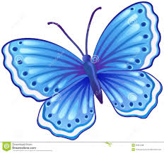 blue butterfly illustration royalty free stock photos image