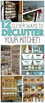 12 clever ways to declutter your kitchen i heart arts n crafts