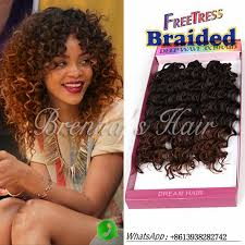 bohemian human braiding hair 10inch 1b freetress braided crochet braids synthetic hair kinky