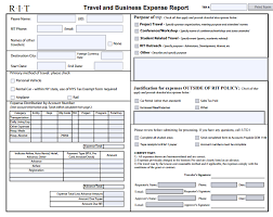 report form template 6 expense report form templates formats exles in word excel