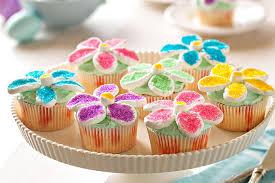 cupcake flowers flower power cupcakes kraft recipes