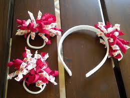 korker ribbon korker ribbon hair ties with matching headband hair accessories