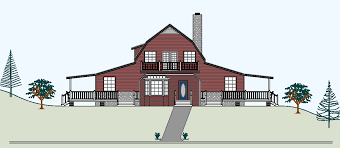 small barn home plans 8 famous television show home floor plans for houses incredible