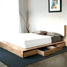 floor level bed bed frame low to ground ground bed frame low profile floor level