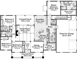 4 bedroom floor plans with basement craftsman style house plan 4 beds 3 5 baths 2789 sq ft plan 21