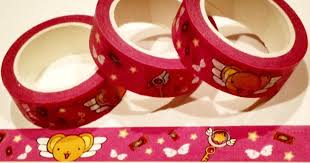 cardcaptor sakura washi tape shut up and take my yen