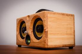 Best Speakers by Thodio Ibox Xc High Density Natural Bamboo Audiophile