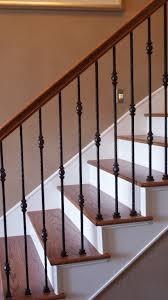 2 Step Handrail Indoor Stair Railing Kits Railings Wooden Wood Stairs Designs