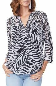nordstrom blouses nydj s black shirts blouses clothing nordstrom