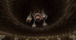 Glowstone Chandelier Temple Of Secrets Minecraft Project