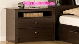 metal nightstands and bedside tables design
