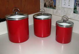 red kitchen canisters vintage kitchen canister sets ideas three dimensions lab