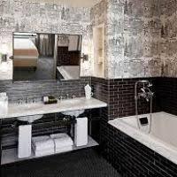 black bathroom tile ideas black bathroom tile ideas halflifetr info