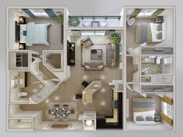 Studio Apartment 3d Floor Plans Home Design Creative Small Studio Apartment Floor Plans And