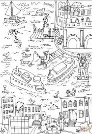 whitehall ferry terminal coloring page free printable coloring pages