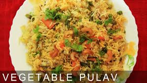 Main Dish Rice Recipes - vegetable pulao quick u0026 easy to make main course recipe easy
