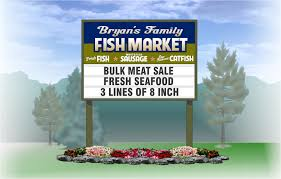 used outdoor lighted signs for business how much does a outdoor business sign cost