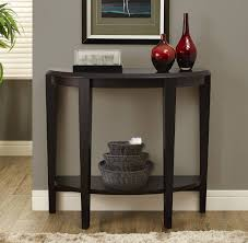 Black Entryway Table Black Half Moon Entry Table Best Table Decoration