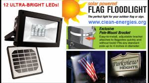 Flag Pole Lights Solar Powered Maxsa Solar Flood Light 12 Leds Solar Flagpole Light Solar