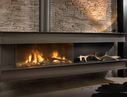 Built In Fireplace Gas by Gas Fireplace Contemporary Closed Hearth Built In Seno