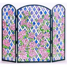 weather resistant folding screen wayfair rose trellis 3 panel
