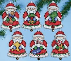 santa s gifts ornament cross stitch kit only 20 95