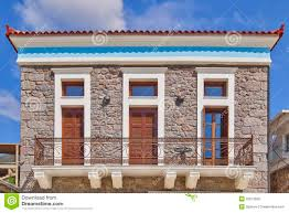 Neoclassical Home Plans Neoclassical House Facade Royalty Free Stock Photo Image 33012695
