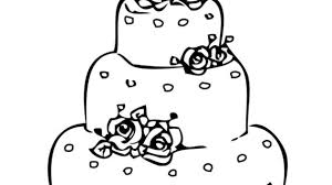 cake drawing for kids how to draw a birthday cake and more super