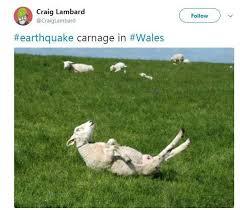 Earthquake Meme - internet jokers react to wales earthquake with hilarious memes of