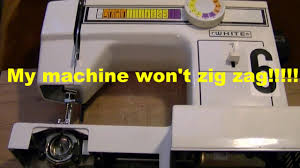 my sewing machine won u0027t zig zag timing repair youtube