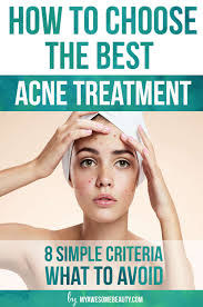 Face Acne Map Best Acne Treatment Comparison Chart And Complete Guide