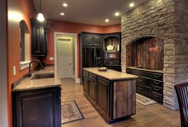 barn red distressed kitchen cabinets pertaining to unique how
