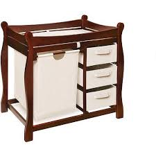 Changing Table Cherry Badger Basket Changing Table With Her And Baskets Cherry