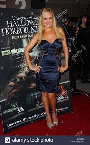 search halloween horror nights los angeles california usa 21st sep 2013 bridget marquardt