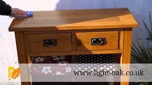 Oak Furniture How To Clean Oak Furniture And Oak Furniture Maintenance Youtube