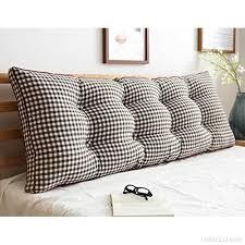 coussin dossier canapé lz snail coussins de dossier de lit canapé amovible en coton