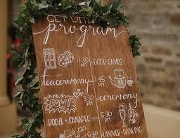 wedding program ideas diy 5 wedding program template ideas for each taste wedding forward