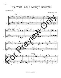 12 duets alto sax duet or ob j w pepper sheet