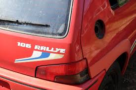 peugeot second ownership verified second life peugeot 106 rallye 1 3