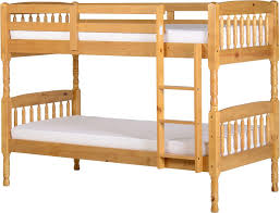 Albany  Bunk Bed In Antique Pine  DiLusso Beds Furniture  Lighting - Pine bunk bed