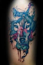 50 wolf watercolor designs for cool ink ideas