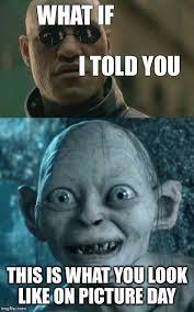 Gollum Meme - xzrfj jpg