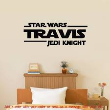 online buy wholesale star wars wall vinyl from china star wars jedi knight personalized vinyl wall decal satisfaction guarantee china