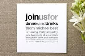 dinner party invitations birthday dinner party invitations cimvitation